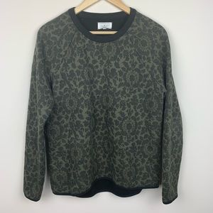 Lou & Grey Floral Crewneck Sweater